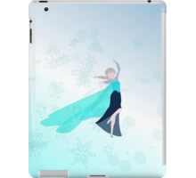 elsa in the storm..  iPad Case/Skin
