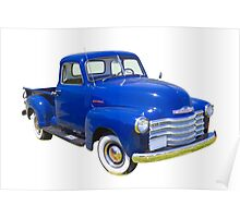 1947 Chevrolet Thriftmaster Antique Pickup Poster