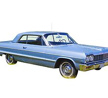 1964 Chevrolet Impala Muscle Car by KWJphotoart
