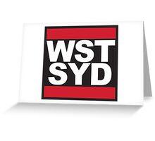 WSTSYD Greeting Card
