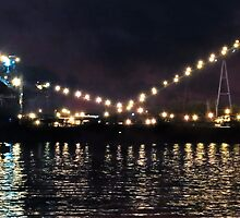 Sandusky Coal Dock At Night by SRowe Art