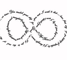 Captain Swan Quote Infinity by colorfulmoniker
