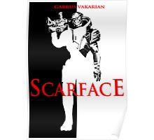 Garrus Scarface Poster