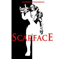 Garrus Scarface Photographic Print