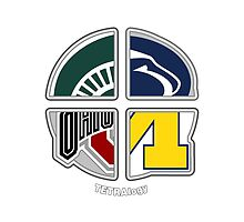 Big Ten TETRAlogy! Michigan, Penn State, Ohio State and Michigan State by SplitDecision