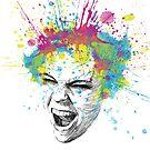 Colorful Scream by OlechkaDesign