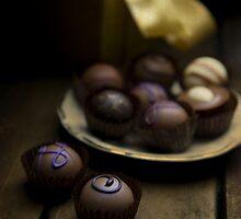 Chocolate pralines by JBlaminsky