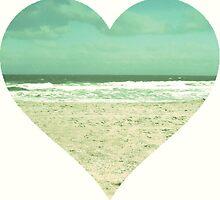 I Heart the Beach by bunhuggerdesign