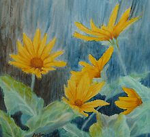 Arrowleaf Balsamroot by Lisa Gibson