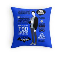 Abed Quotes Throw Pillow