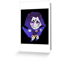 Teen Titans || Raven Greeting Card