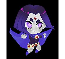 Teen Titans || Raven Photographic Print