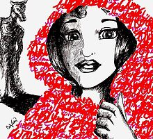 Little Red Riding Hood  by Ceci  Valdez