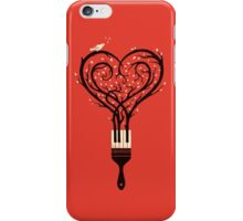 Paint you love song iPhone Case/Skin