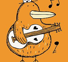 Mr Music Duck by Scruffworld
