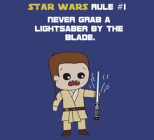 Star Wars Rule #1 (White Text) by Geekster23