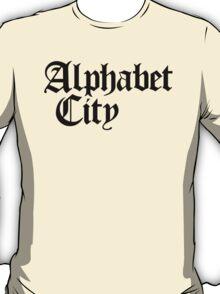 Alphabet City NYC Gothic (Black Print) T-Shirt