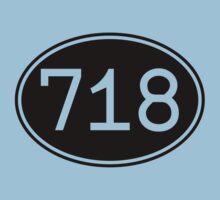 Area Code 718 (Black Print) by smashtransit