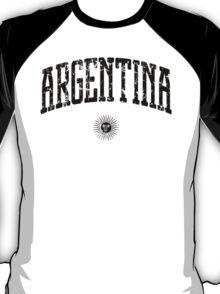 Argentina (Black Print) T-Shirt