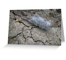 One rat escape from the Zoo of Death Greeting Card