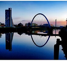 The River Clyde, Glasgow. by kenwindsor