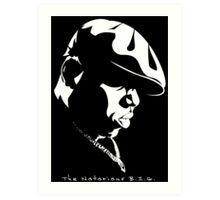 The Notorious B.I.G. Stencil Art Print