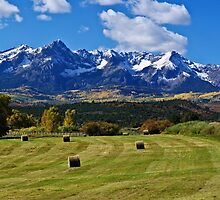 Hay With A View by Gary Benson