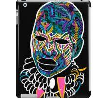 Voodoo Portrait with ethnic ornaments iPad Case/Skin