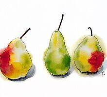 Green Pears by Aleksandra Kabakova
