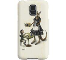 Kangaroo cafe Samsung Galaxy Case/Skin