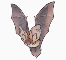 Grey long-eared bat Kids Clothes
