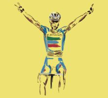 nibali yellow by Andy Farr
