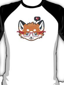 Nerdy Knitwear FOX - head only T-Shirt