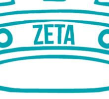 zeta tau alpha watch the throne Sticker