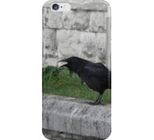 Crowing in Blackheath iPhone Case/Skin