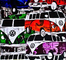 VW's Everywhere by JJ-SpaceNerd