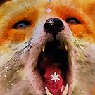 Fabulous Foxes:  Catching Snowflakes by Bunny Clarke