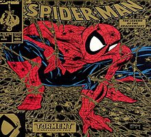 Spiderman Comic Cover by PuzzlePieces