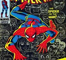 Amazing Spiderman Comic Cover by PuzzlePieces