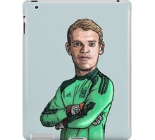 Manuel Neuer iPad Case/Skin