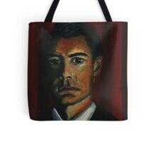 'BLACK AS MIDNIGHT ON A MOONLESS NIGHT' - from 'The Peaks' range Tote Bag