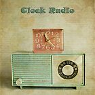 retro clock radio by Michelle Anderson