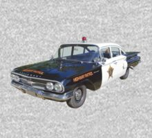 1960 Chevrolet Biscayne Police Car Kids Clothes