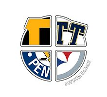 Pittsburgh Pro Sports TETRAlogy! Steelers, Pirates, Penguins and University of Pittsburgh by Sochi
