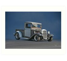 1934 Ford 'Patchwork' Pickup Art Print