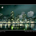Blue Moon Over Vancouver by Wayne King