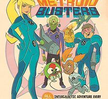 Samus and the Metroid Busters by Wil Overton