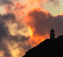 Makapuu Lighthouse Sunrise 1 by Leigh Anne Meeks