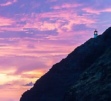 Makapuu Lighthouse Sunrise 2 by Leigh Anne Meeks
