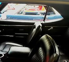 black interior, car show by cloewald